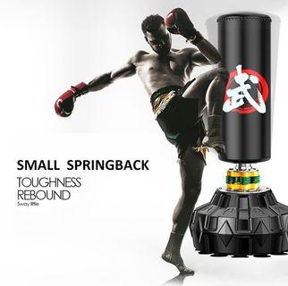 Boxing practice sandbag punching bag