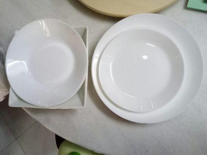 Ikea plates and index living bowl