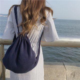針織後背包