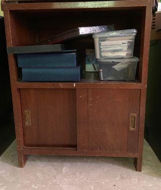 Antique shelf