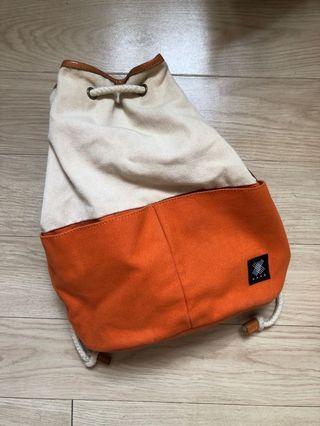 水桶包 bucket bag orange