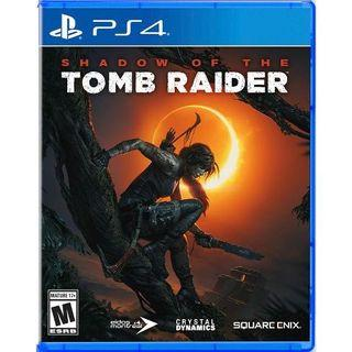 PS4 Shadow of the Tomb Raider 有中文