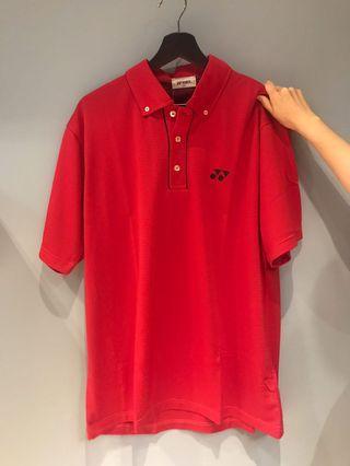 Yonex知名羽球品牌排汗polo衫(全新)