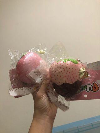 🚚 punimaru jumbo strawberry