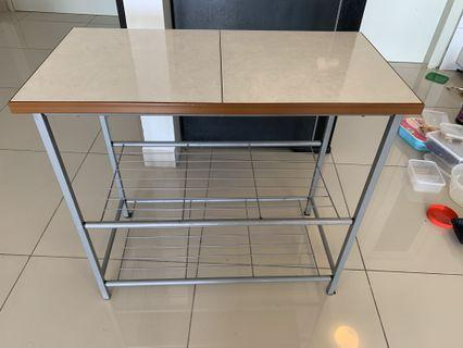 cabinet dapur 2 kaki.