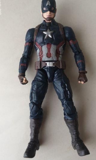 Marvel Legends twin pack captain