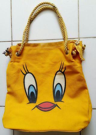 #belanjabulanan tote bag tweety