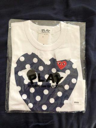 🚚 Brand new with tag CDG Play Tee