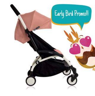 🚚 [Adv. Booking Promo] Cabin Stroller Rentals
