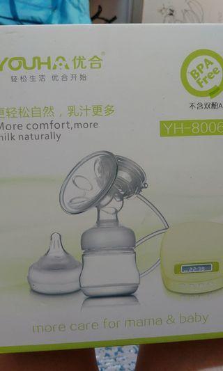 【清貨】優合8006綠色單泵 可駁尿袋 奶泵