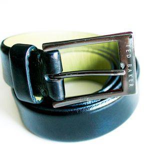 Ted Baker Black leather belt