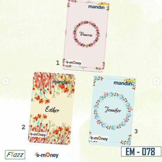 (PO) Floral 02 Custom Ezlink Card