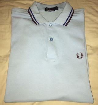 Fred Perry Polo Skinny Fit- Light Blue