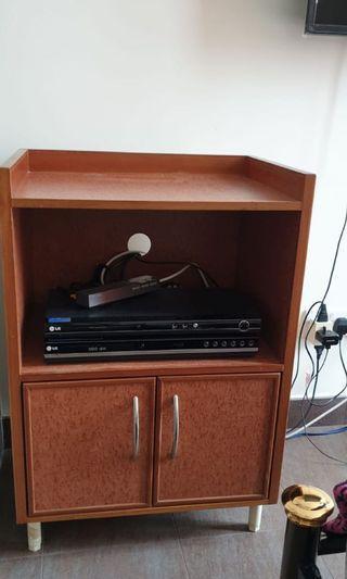 Small console cabinet