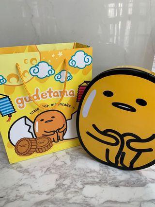 GUDETAMA Metal Box & Bag