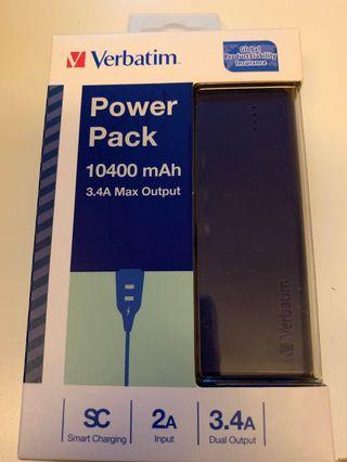 Verbatim power pack 10400mAh#Lalamove