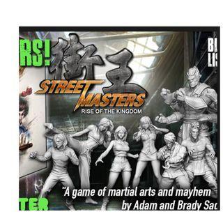 Street Master Base game KS + Street goals (brand NEW)