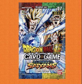Pre Order 龍珠超 咭card game B07 美版