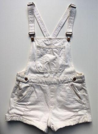 H&M white overalls