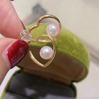 甜心珍珠耳環