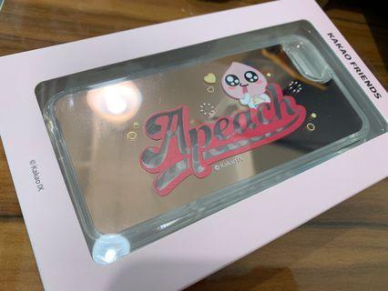 全新韓國製Kakao Friends手機殼 - Apeach鏡面 - iPhone 6/7/8 適用