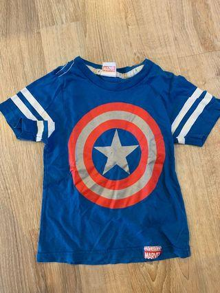 🚚 Boys Tshirt Pre-loved Captain America