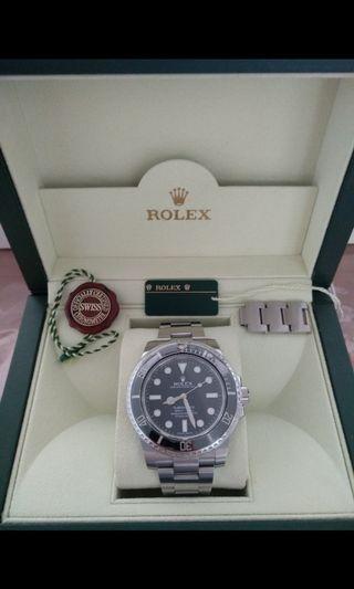 LNIB Rolex Submariner No Date ND 114060