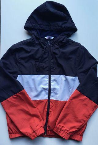 Supré navy red bomber jacket size S/M