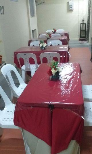 Promotion *Rent - mini event tables and chairs*