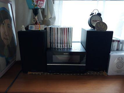 CD, FM, MP3 player