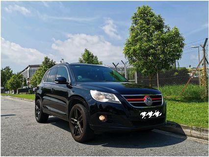 VOLKSWAGEN Premium SUV Tiguan For Rent
