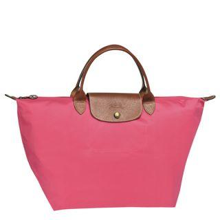 Longchamp Le Pliage Top-Handle (M) (Colour: FLOWERS)