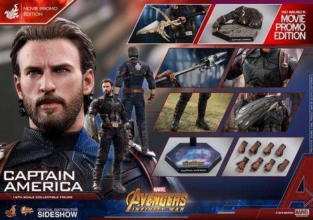 Marvel Avengers Captain America Infinity War