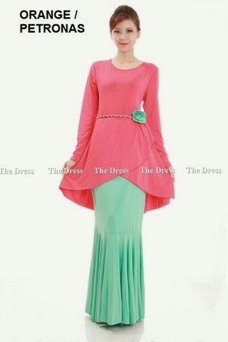 Stock Clearance - Dress K 7529 ( Free Size to XL)
