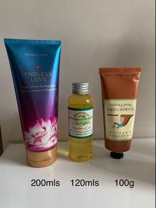 🚚 Assorted cream & body lotion