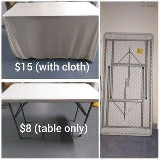Cheap Rent - 4ft foldable table