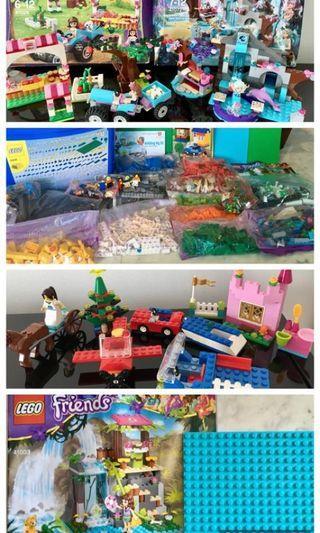 Girls' Lego: multiple sets