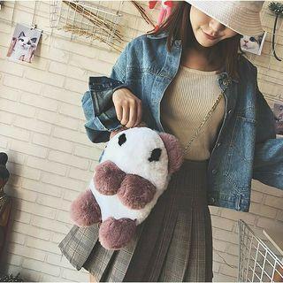 Panda Fluffy Sling Bag