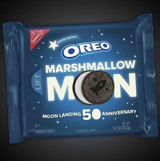 OREO Marshmallow Moon Cookies, Limited Edition, 10.7 Oz