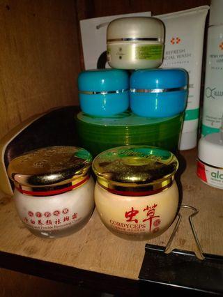 yu chun mei cream pencerah wajah siang malam