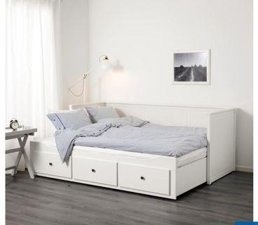 Brand New IKEA Day Bed with Mattress (single/queen)