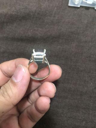 🚚 Sterling Silver 925 Blank Ring