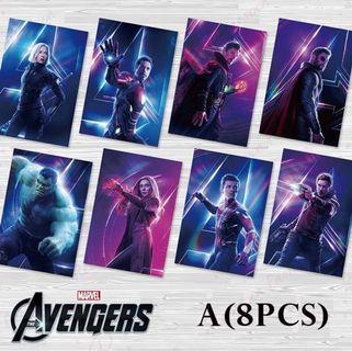 🚚 🔥Cheapest (8pcs/ set) Marvel Avengers Superhero Poster