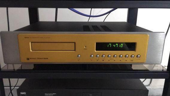 Sonic frontiers SFCD-1 Tube CD Player
