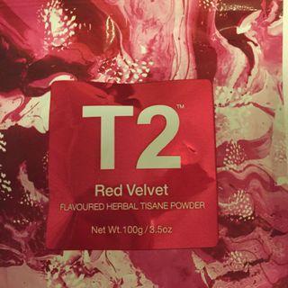 T2 Red Velvet Tisane