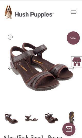 🚚 Hush puppies athos brown sandals