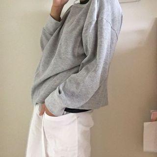 白色打褶褲裙!