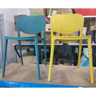 BRAND NEW plastic chairs