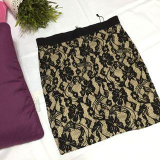 **Brand New 2- layer Lacey Skirt**