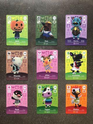 🚚 Animal Crossing Amiibo Cards